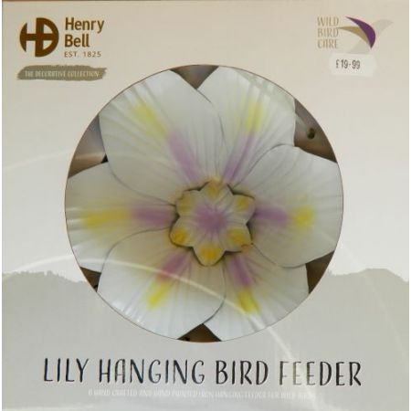 Henry Bell Decorative Hanging Feeder Lily